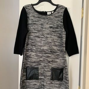 CATO Knitted Sweater Dress L Size Short Sleeve